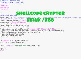Shellcode Crypter – Linux/x86