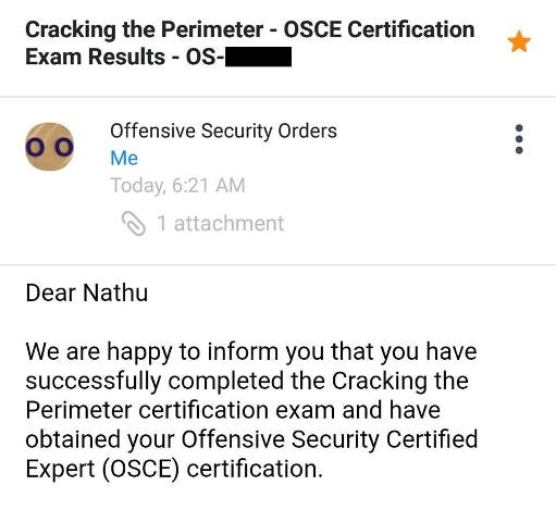 Offensive Security Certified Expert (OSCE) Experience – NandTech