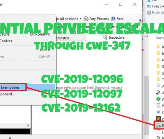 The Potential of Finding Privilege Escalation Vulnerabilities Through CWE-347